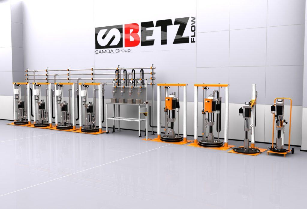 betz colortrans uv ink pumps